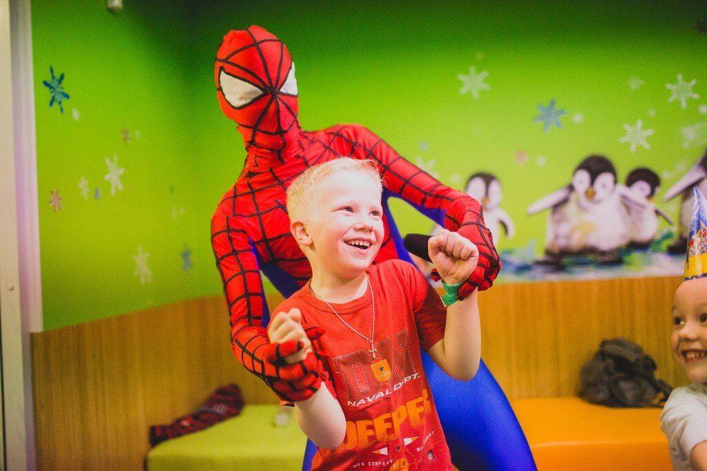 Аниматор Человек-Паук на детский праздник