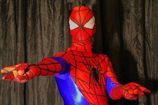 Супегерой человек паук аниматор спб